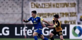 Super League 1, ΑΕΚ-Αστέρας Τρίπολης