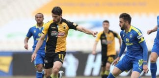 Super League 1 play off ΑΕΚ-Αστέρας Τρίπολης