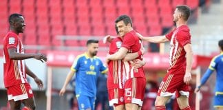 Super League 1 play off, Ολυμπιακός-Αστέρας Τρίπολης